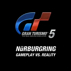 This video from Sony comparing the real-life Nurburgring with the digital re-creation in Gran Turismo 5 is amazing. Their attention to detail is mind blowing.