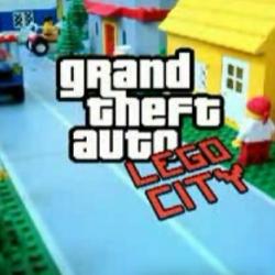 Grand Theft Auto on Legos!