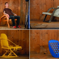In Zeutch, we love the work of Gudmund Bladh! Architectural design student at the University of Lund in Sweden, we now present some of his achievements: he chairs himself appointed and constructed.