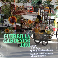 Guerrilla Gardening takes center stage in the windows of Selfridges, London.