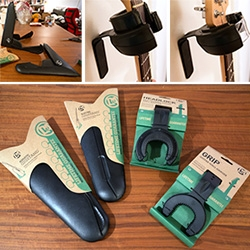 D&A Folding Guitar Stands (they fit in your back pocket!) and Wall Hangers (one automatically closes when you put your guitar in!). Beautifully designed and packaged ~ elegant and surprising details!