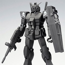mastermind JAPAN x STRICT-G PG 1/60 RX-78-2 Gundam Toy - beautiful in matte black with the signature skull and cross bones
