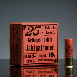 Gyttorp is one of Sweden's largest producer of ammunition for hunting and skeet shooting. They have now gotten a total design make over by Neumeister.
