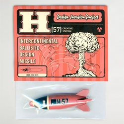 H-57's Design Invasion Project. Cute intercontinental Ballistic Design Missile USBs.