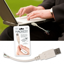 Hacked! New 2 GB Flash drive that looks so fucked up, no one's going to mess with it!