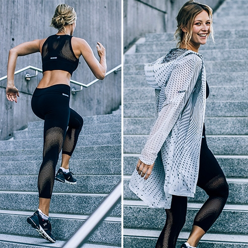 ODLO Spring/Summer '19 Women's Activewear Collection – By Zaha Hadid Design.