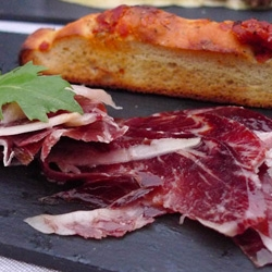 First night in Mallorca ~ Tapas at Son Moragues Terrace & Bar in La Residencia... from Iberico ham to albondigas, to octopus in beautiful tins, to foie gras wrapped in ham with figs and so much more...