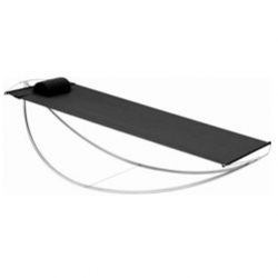 Awesome Royal Botania Hammock! Compact stainless steel frame hammock with batyline cloth and attached pillow.