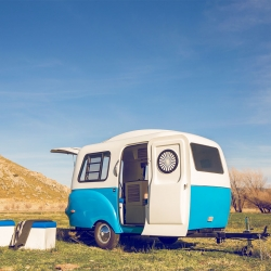 The Happier Camper. Brilliant storage and sleeping solution when hitting the open road.