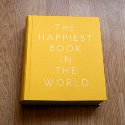 The Happiest Book in the World - designed by multi-talented Graphic Design graduate Alex Ostrowski.