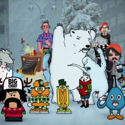 View this fun animated holiday video with animation and direction by 12 foot 6 and lots of other cool artists!
