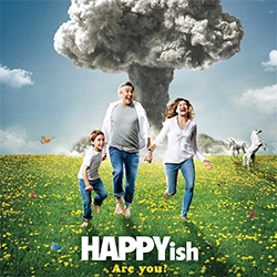 Happyish - on finding inspiration in the randomest of places, we've been loving Happyish. A playful, cynical, imaginative look into the world of ad agencies and life...