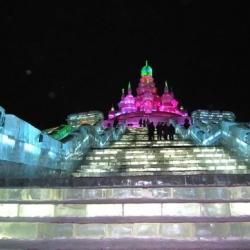 Each year an incredible crop of luminous ice castles rise at the Harbin Ice and Snow festival in China.