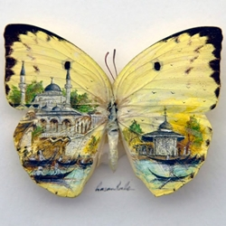 The amazing miniature paintings by the Turkish artist Hasan Kale.