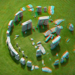 Amazing 3D photographs of sites around the UK by Jason Hawkes.