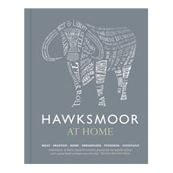 "Delicious London steak restaurant Hawksmoor will be releasing a cookbook, ""Hawksmoor at Home"" this October. Beautiful cover!"