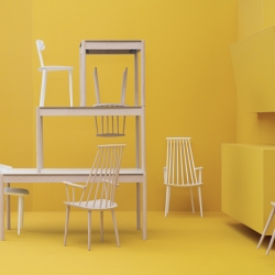 HAY's  relaunch of the Danish furniture classics originally made for FDB (The Danish Consumers  Co-operative Society).