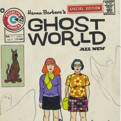 Ghost World's Rebecca & Enid as Scooby Doo's Daphne & Velma, a 'mush-up' by Beasts! artist Mr. Ed.