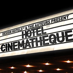 Few things go together better than great hotels and great cinema. Inspired by a common passion for unique experiences, Design Hotels has joined forces with The Auteurs to create Hotel Cinematheque.
