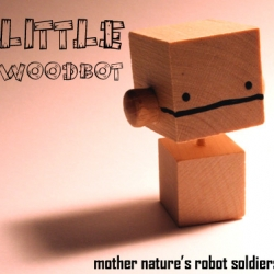 Little Woodbot robots are starting to invade the world!  Series 0 is limited to only 50 pieces and 100% handmade.  A little bird tells me Series 1 will feature five models and will be blindboxed.