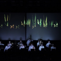 The Heart Chamber Orchestra uses the heart beats of its 12 constituent musicians to generate a musical score in real time which they then play