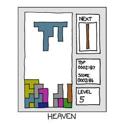 XKCD #888 = Heaven ~ tetris style