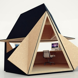 The Tetra Shed: The new backyard office!