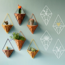 Hedge is a new brand of outdoor accessories with colorful and lively shapes. It aims to create exciting and fun ways for the urban dweller to add greenery to his or her home, whether on a patio, balcony, or a tiny corner in the kitchen.