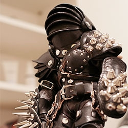 Hedgehog of Death Leather Sculpture by IC4DESIGN.