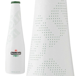 Ora-Ïto sign latest Heineken limited edition : Icone Pure Edition. Just... white.