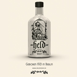 Held Vodka born 1931 in Berlin. Nice illustrations of Siegfried and the lindworm.