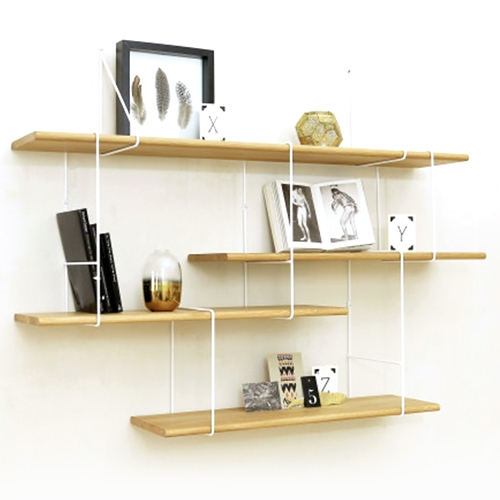 Studio Hausen LINK Shelving system comes in a variety of modular units you can get creative with.