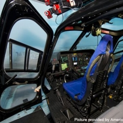 Most advanced single-engine helicopter flight and mission simulator comes to life