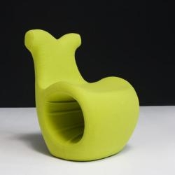 Karmelina Martina has designed the new Helix chair for the Italian manufacturer Moroso.