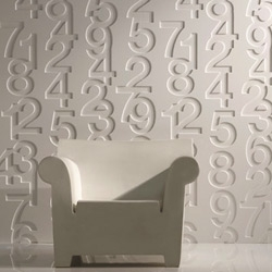 Helvetica Wall Panel