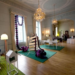 A stunning showcase of Swedish Design, Hemma, which means 'home' in Swedish, is one of two exhibitions of Swedish Design Goes to London hosted in the Swedish Ambassador's Residence, a beautiful 18th century house.