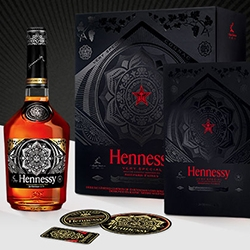Hennessy Special Shepard Fairey Obey Edition