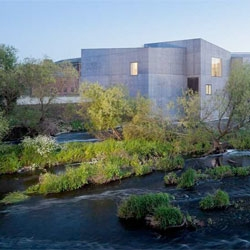 The new Hepworth Wakefield Gallery by David Chipperfields Architects.