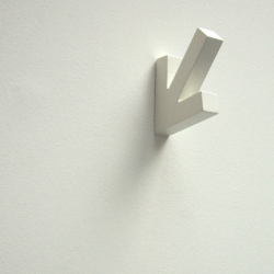 HERE is a limited edition coat hook by Richard Shed