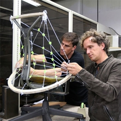 Herman Miller shows the making of the SAYL chair with the Live Unframed website.