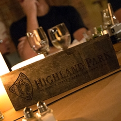 The Highland Park Hero's Chest Dinner: Los Angeles. Minds are blown when you gather 10 renowned designers/creatives + an object that says something about them + 1968 Highland Park Whiskey + vintage racing Porsche 911s...