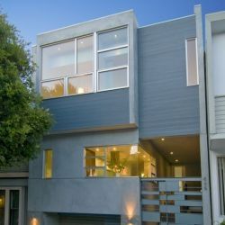 Group 41 Architects have designed the H House in San Francisco, California.
