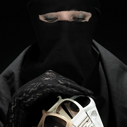 Picture snapper Bela Borsodi enters the world of full-body cover burqa and high fashion photography.