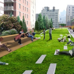 New York's High Line park is set to double in size by next spring! Fast Company tells us architects Diller Scofidio + Renfro and landscape firm James Corner Field Operations will roll out fascinating new features in the 10-block extension.