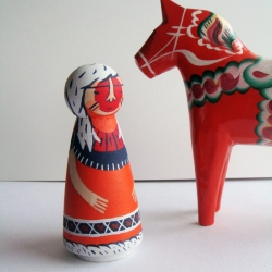"""Each wooden Hinterfolk comes with their own personality, ready to watch over your home.""