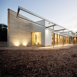 The Hinterland House from Morris Partnership Architecture in rural Australia.