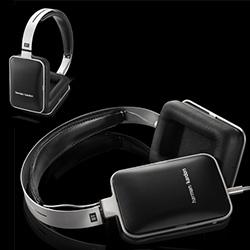 Harman Kardon BT headphones - sleek, clean design, bluetooth, and one of the slimmest looking over ear headphones i've tried. Love the sandblasted steel and black matte housings...
