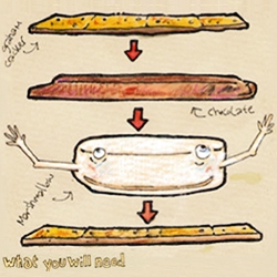 Create your own S'Mores for They Draw and Cook by hmacdo!