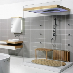 Hoesch Sensamare Komplettbad - the Complete Luxury Modern Bathroom.... dreaming and wishing i had this right about now.