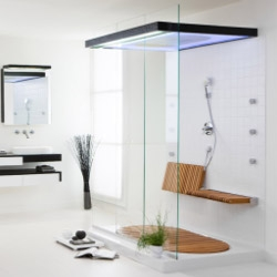 The new Sensamare shower from Hoesch